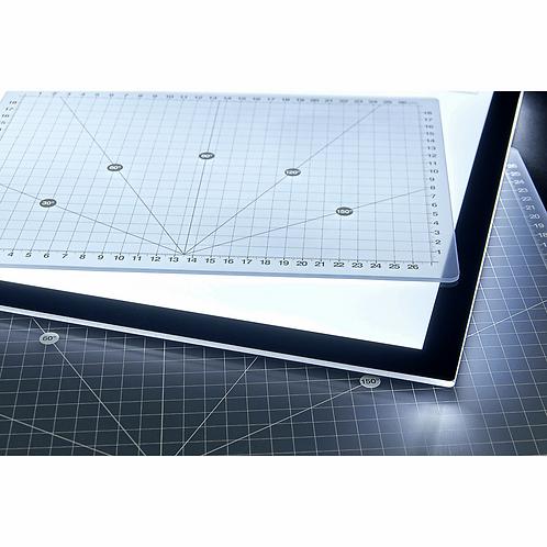 Purelite Cutting Mat: Translucent: 45cm x 30cm (A3)