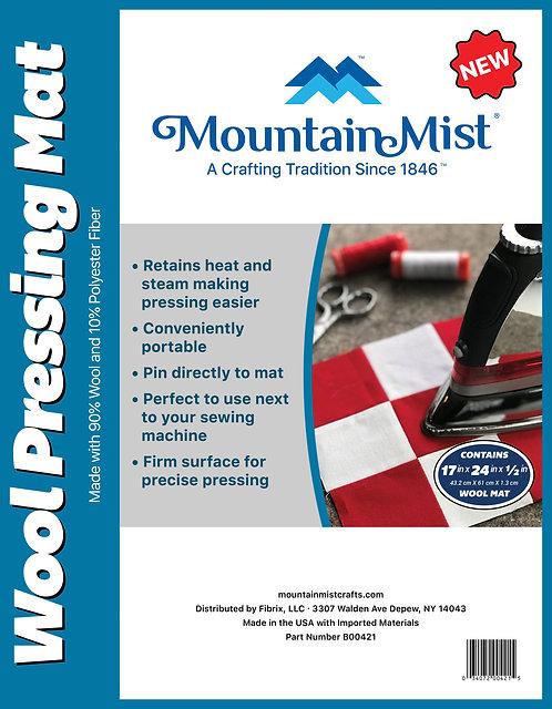 "Mountain Mist Wool Pressing Mat 12x18""/305x427cm Square"