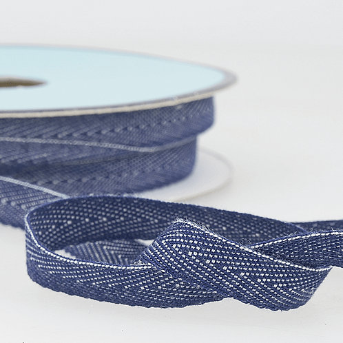 Denim Blue 10mm Ribbon Tape