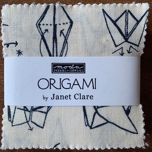 Origami by Janet Clare Moda Mini Charm Fabric Pack