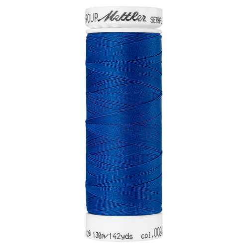 Seraflex Elastic Stretch Mettler Thread 130m BLUE
