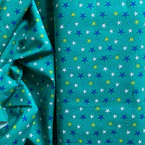 Stars 100% Cotton Fabric