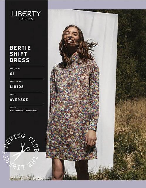Bertie Shift Dress Liberty Pattern
