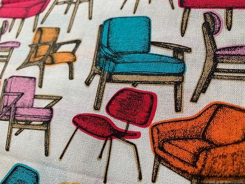 Retro Furniture 100% Cotton Fabric