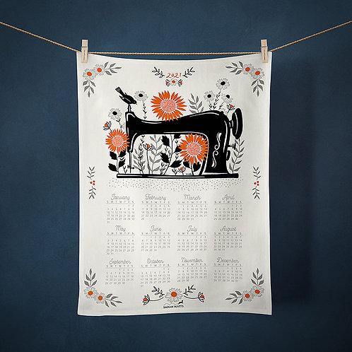 RSS Sarah Miller Sewing Tea towel