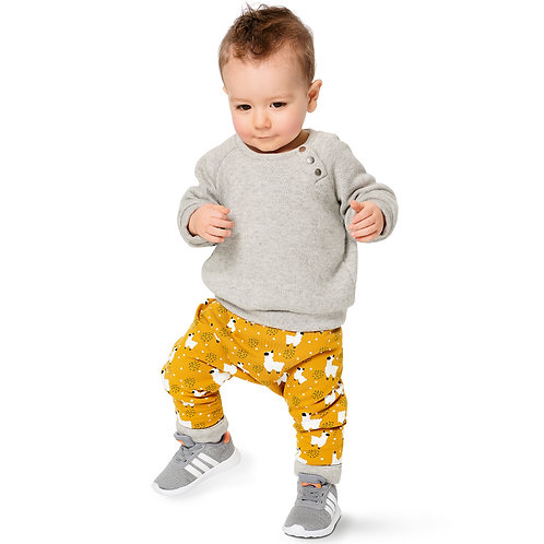 9312 Babies' Coordinates, Pull-On Top and Pants Burda Pattern