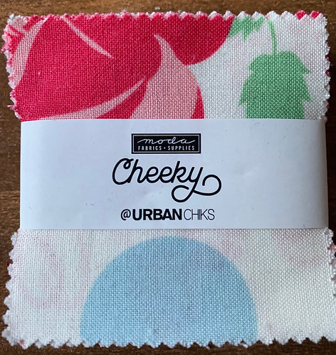 Cheeky by Urban Chiks Moda Mini Charm Fabric Pack