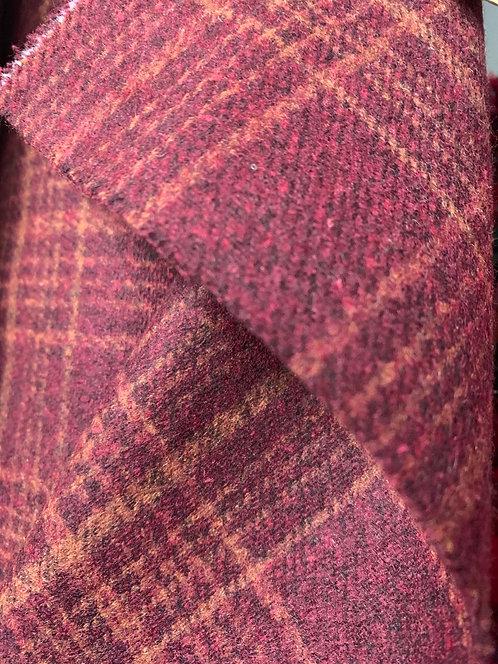 Wool Tartan Plaid Tweed