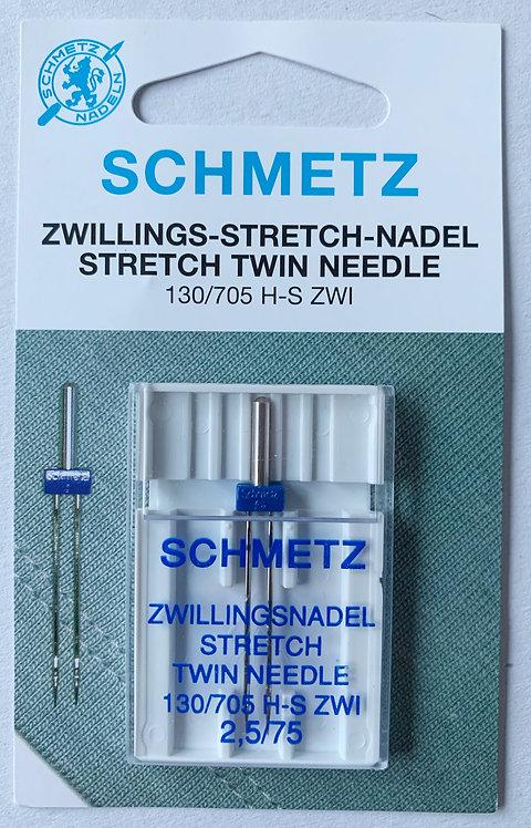 2.5mm Twin Stretch Needle Schmetz Sewing Machine