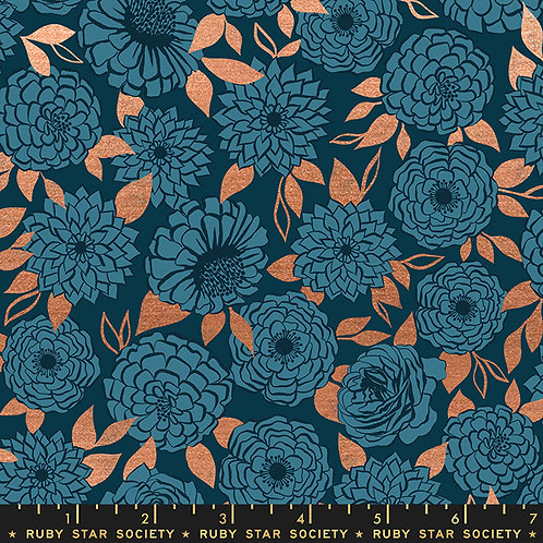 RSS Stay Gold Fabric by Melody Miller