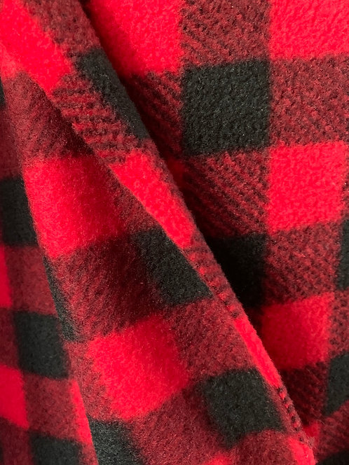 Red Chex Fleece