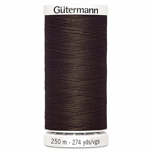 DARK BROWN 694 Sew All Thread 250m