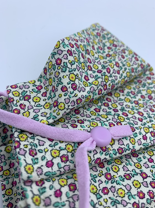 Face Mask Covering Pleated Liberty Ditsy Suffolk Fields Floral
