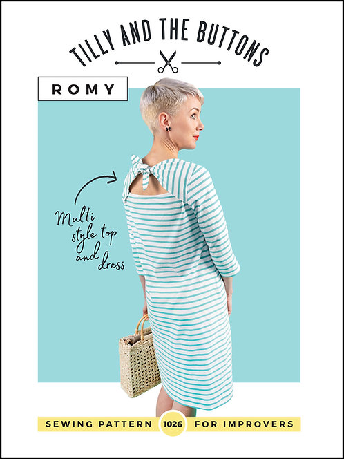 ROMY Dress/TopTilly & The Buttons PATTERN