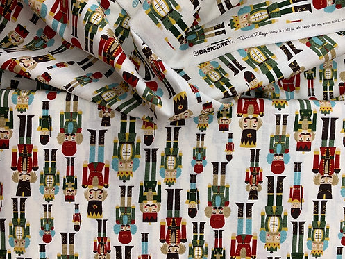 Winter Village Soldiers by Basic Grey for Moda 100% Cotton Fabric