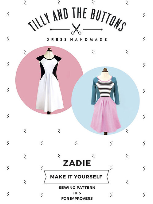 ZADIE Dress Tilly & The Buttons PATTERN
