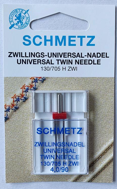 Schmetz Universal Twin 4mm Sewing Machine Needles