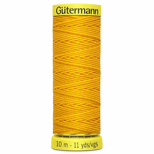 Shirring Elastic Thread Mustard Yellow