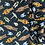 Thumbnail: Star Wars tossed in space Fabric