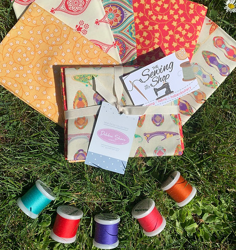 Fat Quarter Set with FREE THREAD