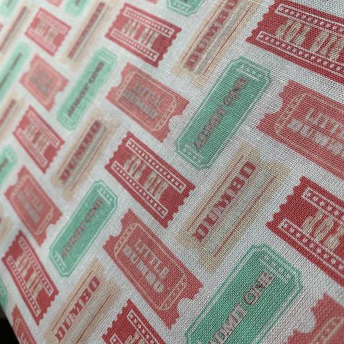 Dumbo Tickets 100% Cotton Fabric