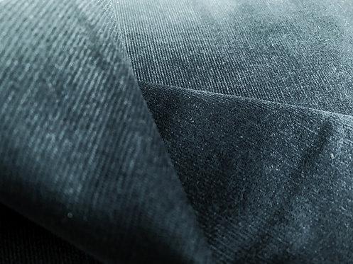 Navy Blue Needle Cord Fabric