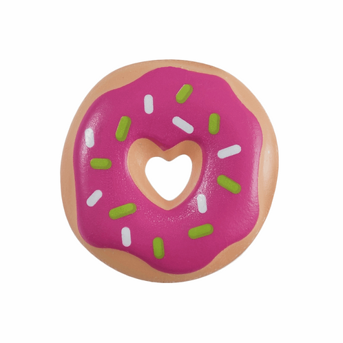 22mm Iced Ring Donut 🍩 novelty Button