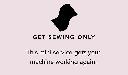 GET SEWING with your Machine