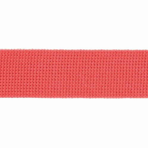 Coral 30mm Cotton Webbing Strapping Tape