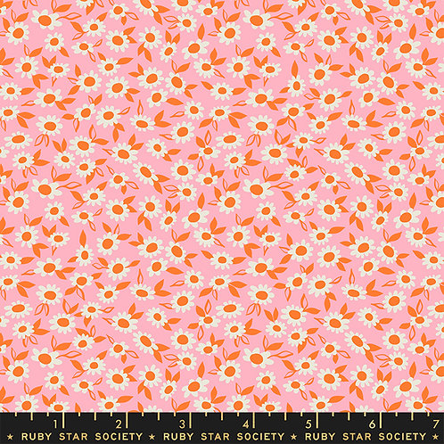 RSS Stay Gold Morning Blend Daisy Fabric by Melody Miller
