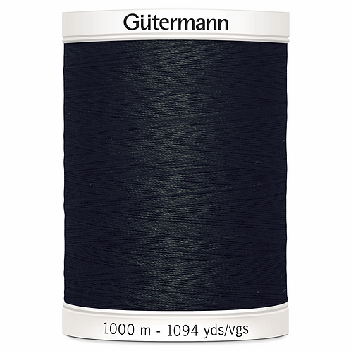 BLACK Sew All Thread 1,000m