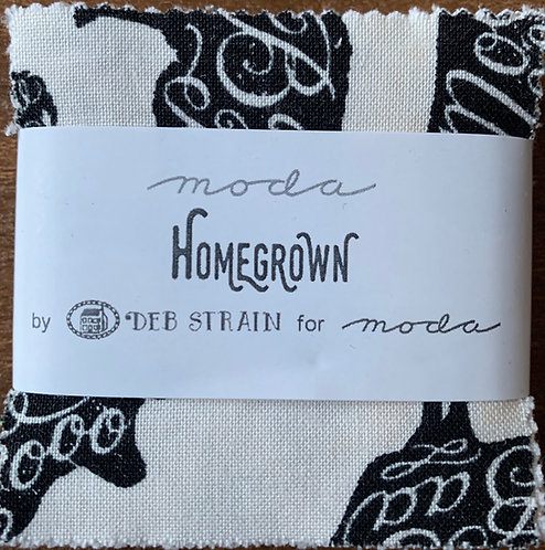 Homegrown Moda Mini Charm Fabric Pack