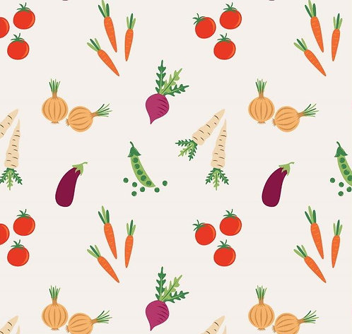 Veg Patch 100% Cotton Fabric