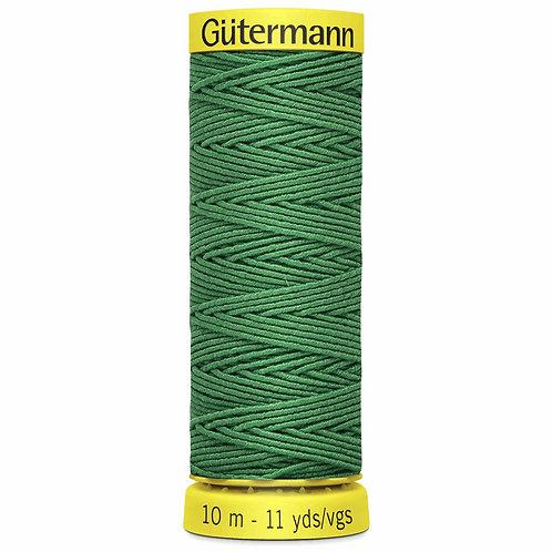 Shirring Elastic Thread Emerald Green