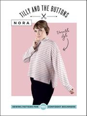 NORA Top Tilly & The Buttons PATTERN