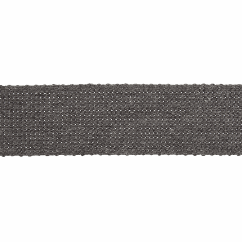 Grey 30mm Cotton Webbing Strapping Tape