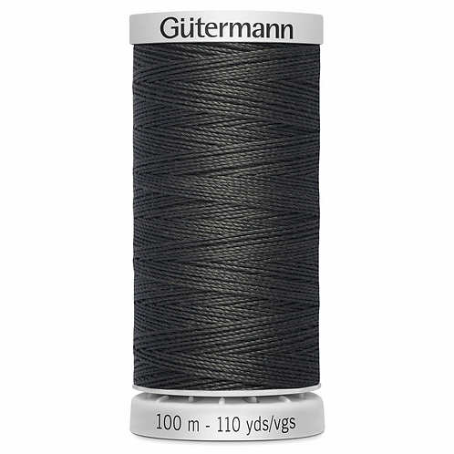 DARK GREY 36 Upholstery Extra Strong Thread 100m
