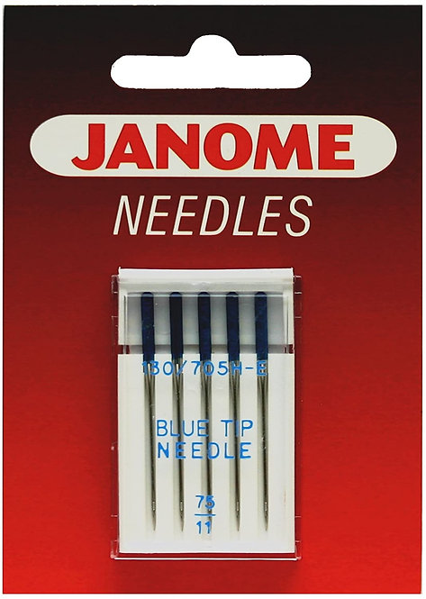Needles Janome Blue Tip 75/11 Sewing Machine