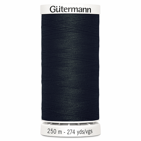 BLACK Sew All Thread 250m