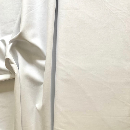 White 100% Plain Cotton Fabric