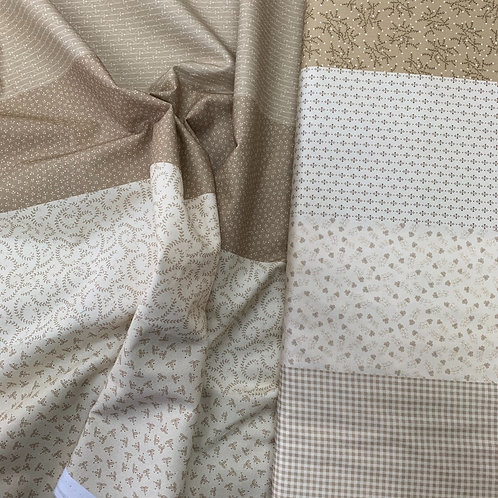 Patches of Americana 100% Plain Cotton Fabric