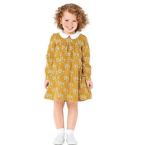 Burda Style Pattern 9305 Children's Dresses with Yokes & Sleeve Variations