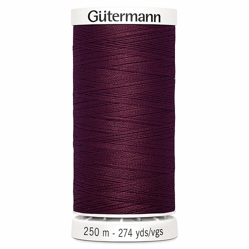 BURGUNDY 369 Sew All Thread 250m