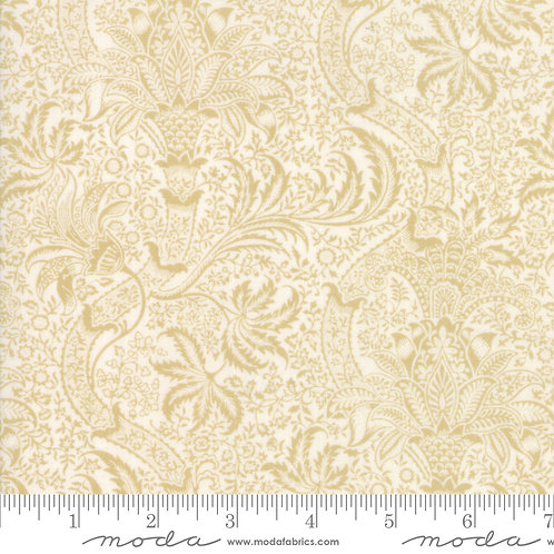 Best Of Morris Spring Porcelain 100% Cotton Fabric by Moda