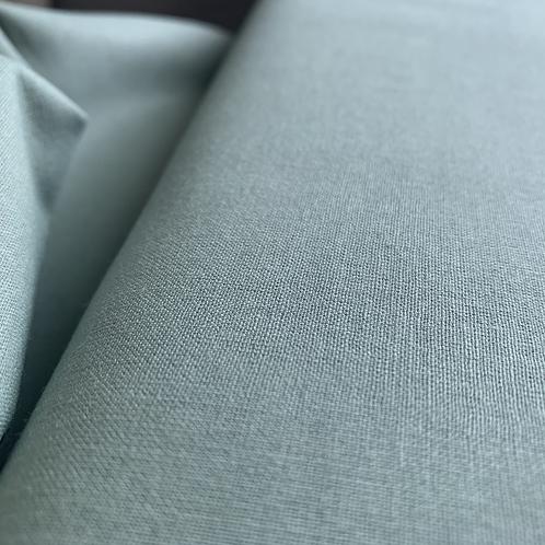 Vintage Duck Egg Blue 100% Plain Cotton Fabric