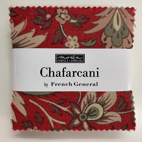Chafarcani French General Moda Mini Charm Fabric Pack