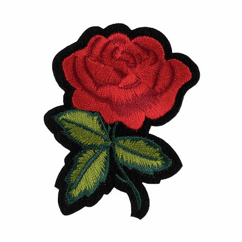 Rose Iron On Motif