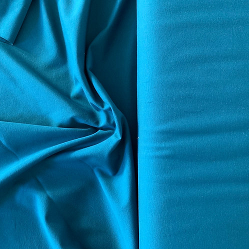 Petrol Teal Jersey Stretch Fabric