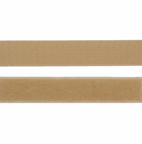 20mm Stick on Velcro Tape ECRU/SKIN TONE