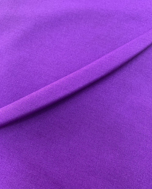 Purple 100% Plain Cotton Fabric